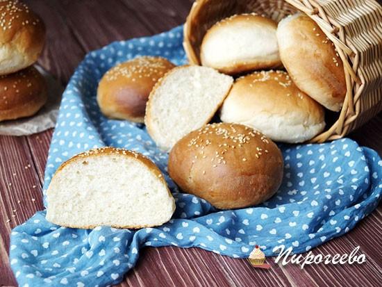Хлебные булочки для гамбургеров, сэндвичей и бутербродов