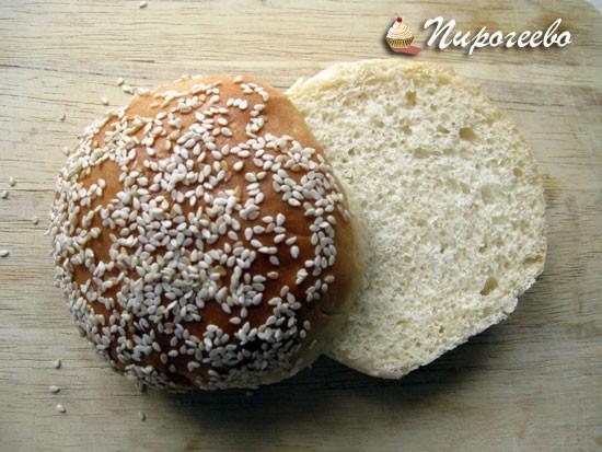 Хлебные булочки для гамбургеров