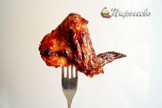 Как приготовить курицу барбекю рецепт с фото