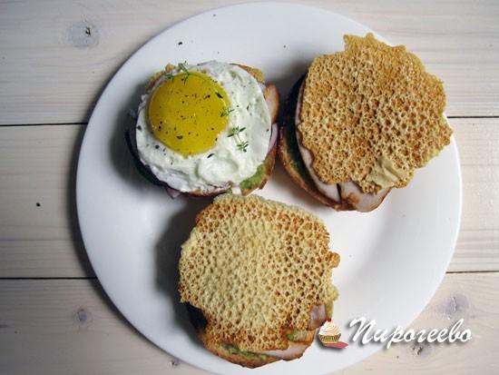 Как приготовить сэндвич в домашних условиях с яйцом