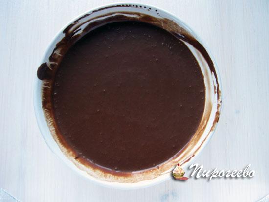 Получить однородную шоколадную массу