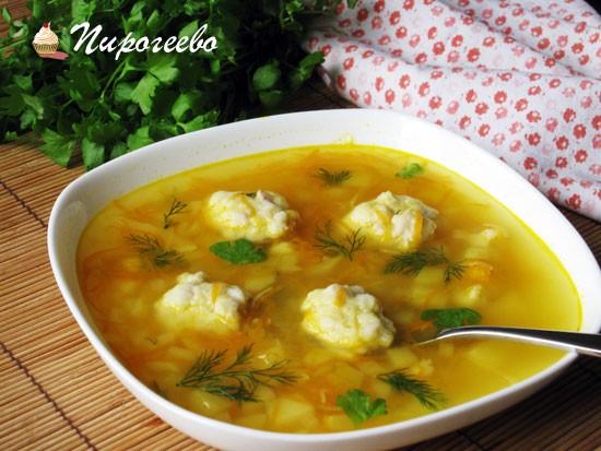 Как приготовить вкусный суп с клёцками