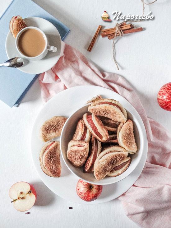 Яблочное печенье рецепт с фото пошагово