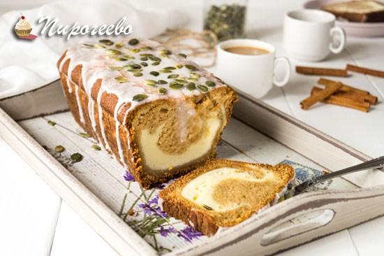Рецепт тыквенного хлеба с начинкой