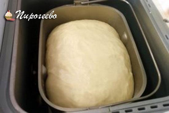 Вкусное тесто для пирожков в хлебопечке