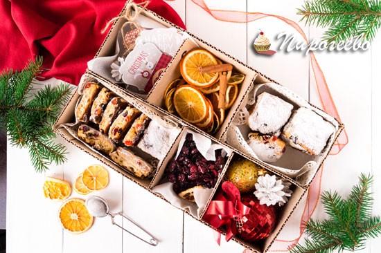 Как приготовить рождественские мини-штоллены