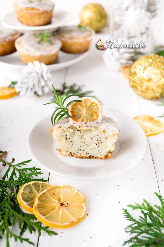 Как приготовить лимонно-маковые маффины