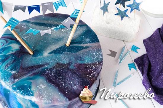 Как украсить торт на день рождения