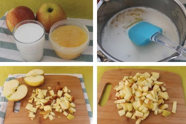 Добавляем в рецепте медовых кексов молоко, в котором растворяем мед