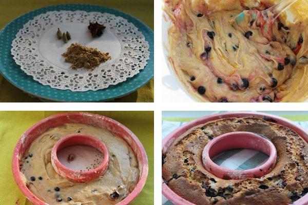 рецепт кекса в силиконовой форме прост и понятен