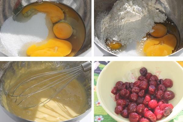 Для клафути с вишней можно использовать замороженную ягоду или вишню из компота