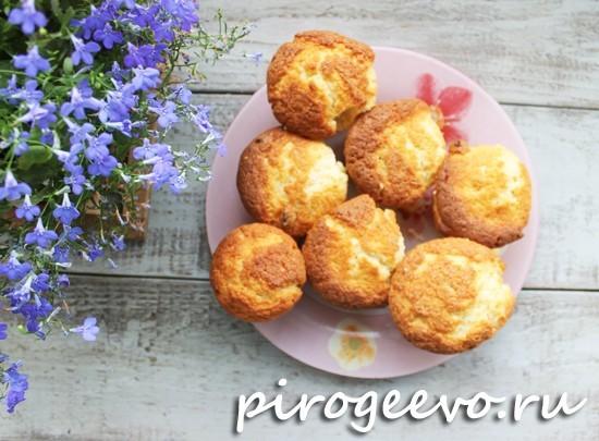 Творожные пасхальные кексы готовы