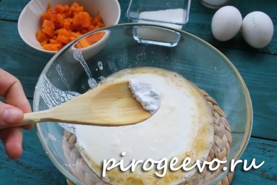 Добавление пищевой соды в тесто