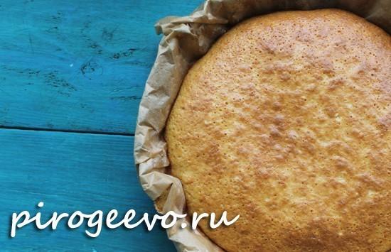 Бисквит на сметане рецепт с пошаговыми фото