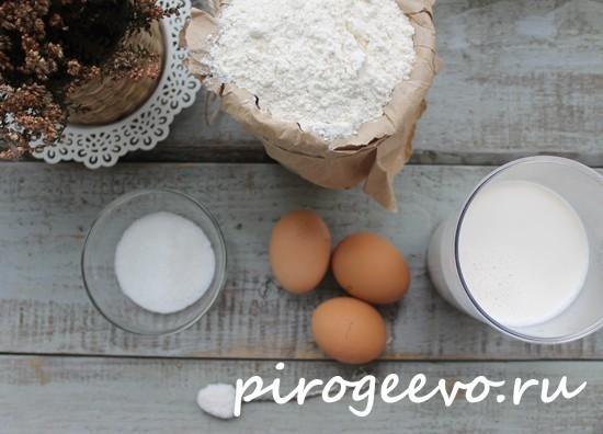 Как приготовить тонкие блинчики на молоке