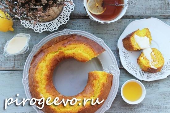 Рецепт лимонного кекса с пропиткой