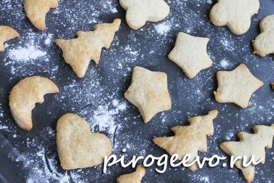 Рецепт сахарного печенья прост и понятен