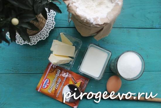 Как приготовить молочные коржики из детства