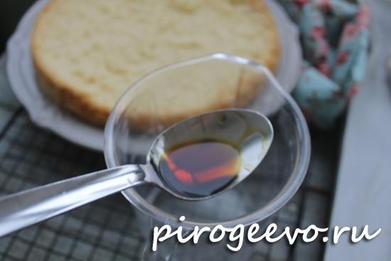 Готовим пропитку для бисквита