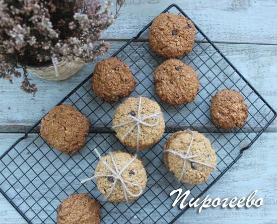Овсяное печенье рецепт с фото очень вкусное