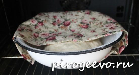 Дрожжевое тесто подходит в духовке