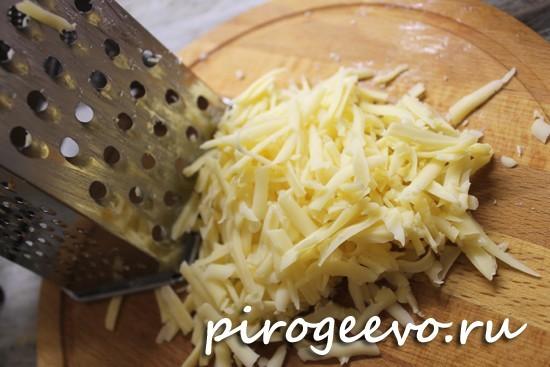 Российский сыр натереть на терке