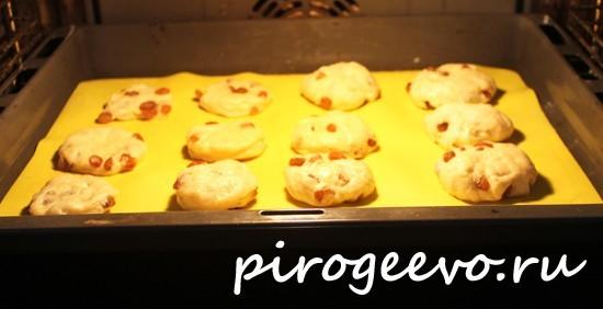 Постное печенье на рассоле в духовке