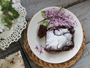 Вкусный нежный шоколадный пирог