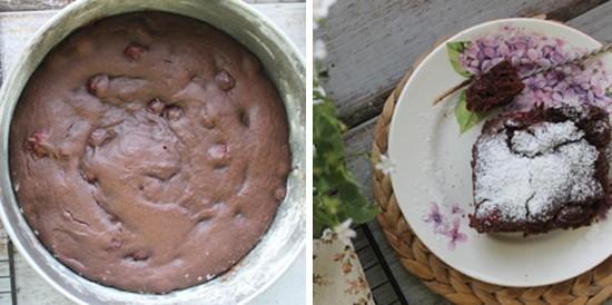 Выпекаем шоколадный постный пирог в духовке