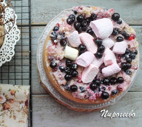 Украшаем пирог на свой вкус