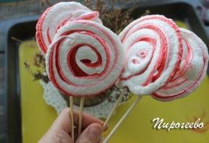 Вкусные и красивые меренги для праздника