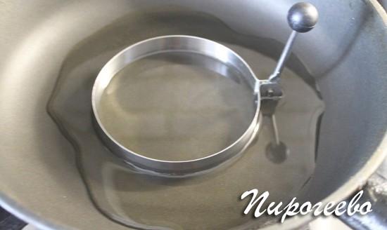 Форма для выпекания круглый оладий