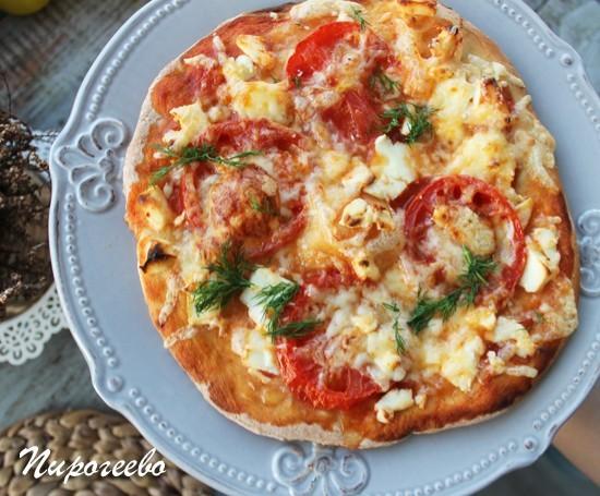 Вкусная пицца Маргарита в духовке в домашних условиях