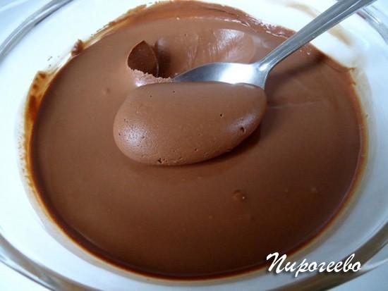 Шоколадный крем из масла и сгущенки