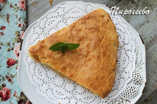 Кусок пирога в разрезе