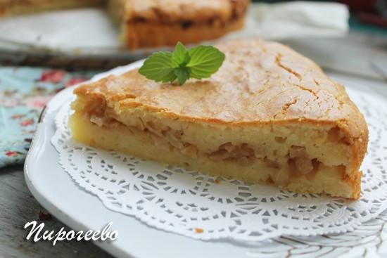 Заливной пирог с капустой рецепт с фото пошагово
