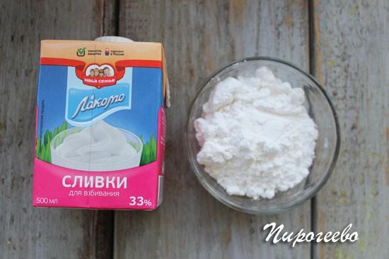 Как приготовить крем из взбитых сливок