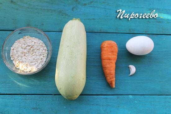 Как  приготовить овощные оладушки из кабачков и моркови
