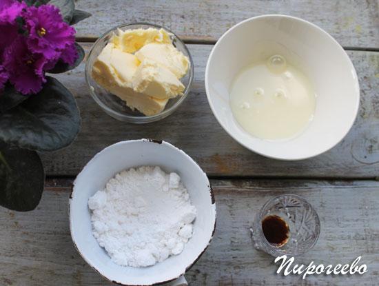 Крем из сгущенки для пирожного картошка