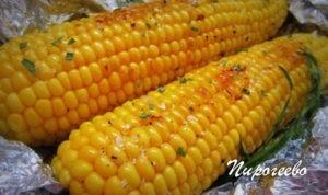 Кукуруза, запеченная в фольге в духовке