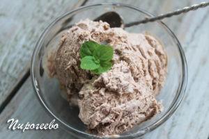 Как сделать шоколадное мороженое в домашних условиях