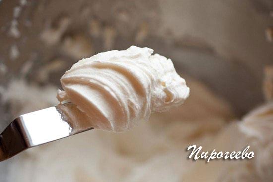 Сметанный крем для торта в прослойку и для украшения