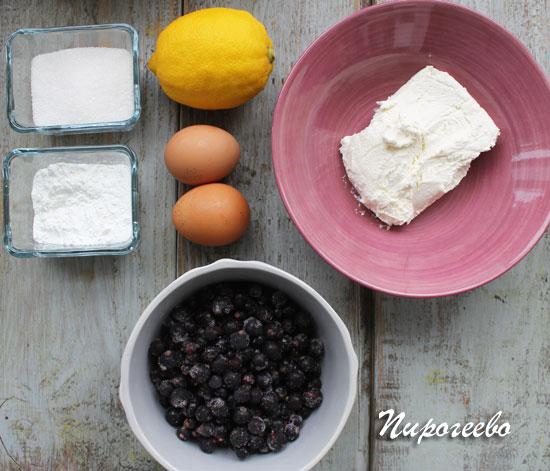 Как приготовить творожный пирог со смородиной