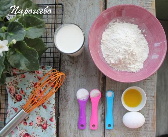 Как приготовить панкейки на молоке