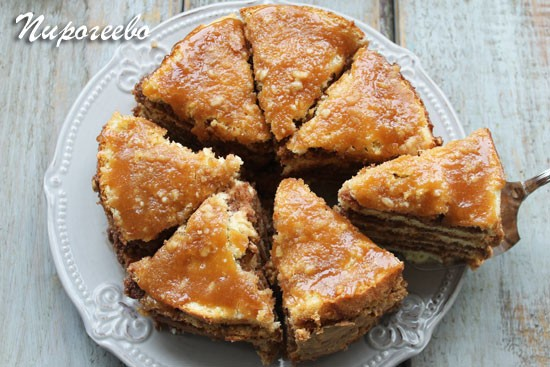 "Торт ""Добош"" рецепт с фото пошагово"