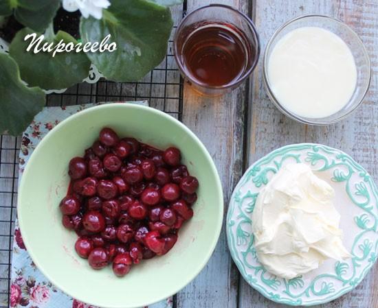 Как сделать дома вкусный торт с вишней
