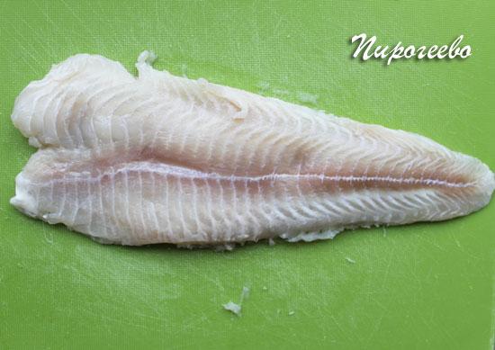 Подготовить филе рыбы