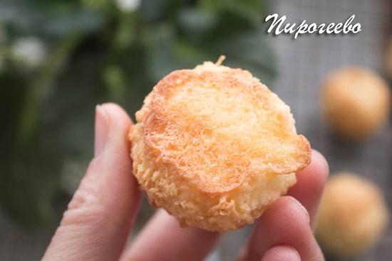 Печенье Кокосанка вкусное и рассыпчатое