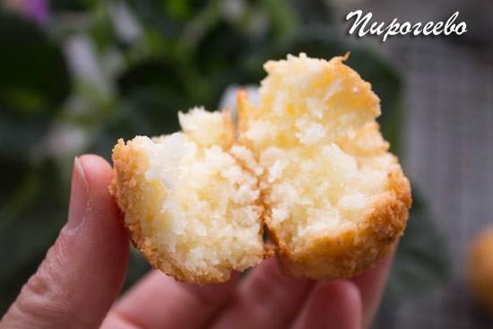 Как приготовить вкусное печенье из кокосовой стружки
