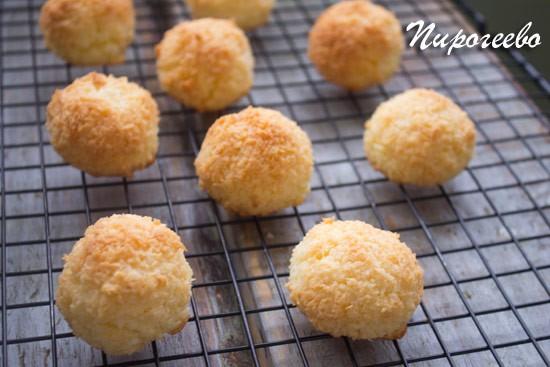 Как сделать кокосовое печенье Кокосанка
